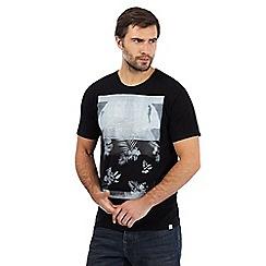 O'Neill - Black floral print t-shirt