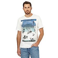 O'Neill - White ocean print t-shirt
