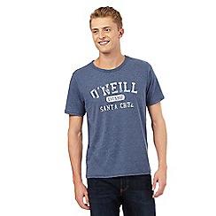 O'Neill - Blue 'Santa Cruz' print t-shirt