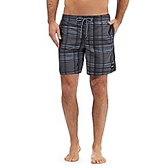 O'Neill - Black checked swim shorts