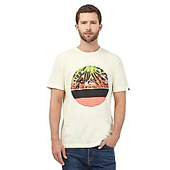 Quiksilver - Yellow 'Extinguished' t-shirt
