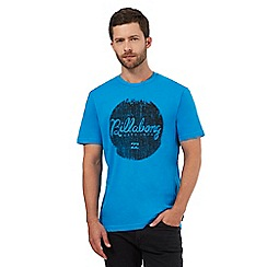 Billabong - Blue logo print t-shirt