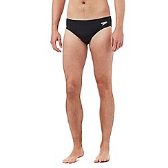 Speedo - Black 'Essential Endurance' swimming trunks