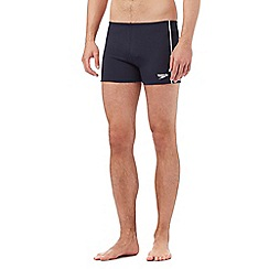 Speedo - Navy 'Essential Classic' swimming trunks