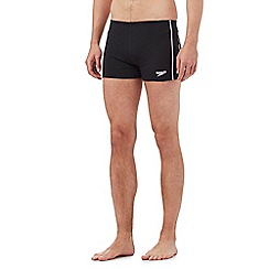 Speedo - Black 'Essential Classic' swimming trunks