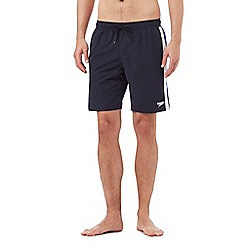Speedo - Blue logo placement swim shorts