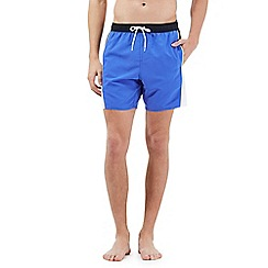 Speedo - Blue Sport logo swim shorts