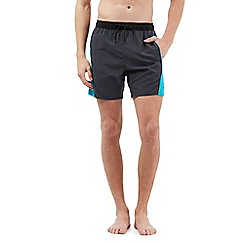 Speedo - Grey Sport logo swim shorts