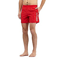 Speedo - Red Scope logo swim shorts