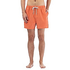 Red Herring - Big and tall orange swim shorts