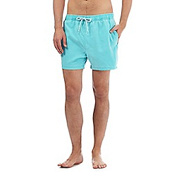 Red Herring - Big and tall turquoise swim shorts
