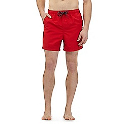 Maine New England - Big and tall red swim shorts