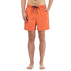 Maine New England - Big and tall orange swim shorts
