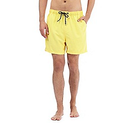 Maine New England - Big and tall yellow swim shorts