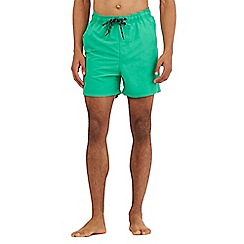 Maine New England - Big and tall green basic swim shorts