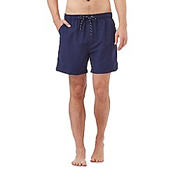 Maine New England - Big and tall navy basic swim shorts