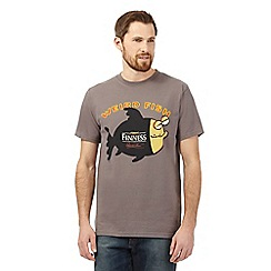 Weird Fish - Grey fish print t-shirt