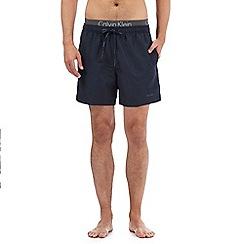 Calvin Klein - Navy double waistband