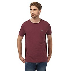 Animal - Purple chest pocket t-shirt