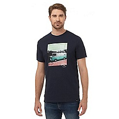 Animal - Navy camper van print t-shirt
