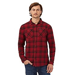 Animal - Red checked regular fit shirt