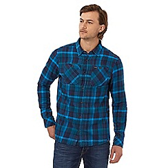Animal - Blue checked regular fit shirt