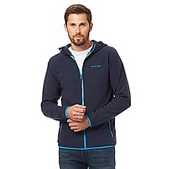 Animal - Navy zip-through fleece