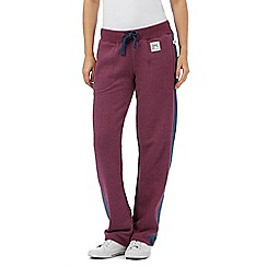 Animal - Purple contrast jogging bottoms