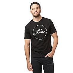 O'Neill - Black logo print t-shirt