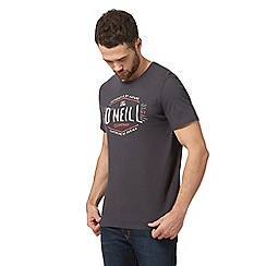 O'Neill - Grey logo print t-shirt
