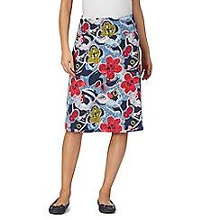 Weird Fish - Multi-coloured floral print skirt