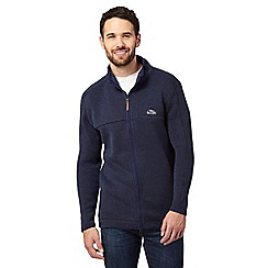 Weird Fish - Blue zip through fleece