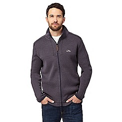Weird Fish - Grey zip through fleece