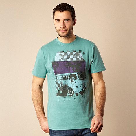 Animal - Green printed t-shirt