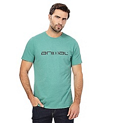Animal - Green marl logo t-shirt