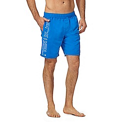 Animal - Blue logo swim shorts