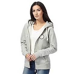 Animal - Grey zip-through hoodie