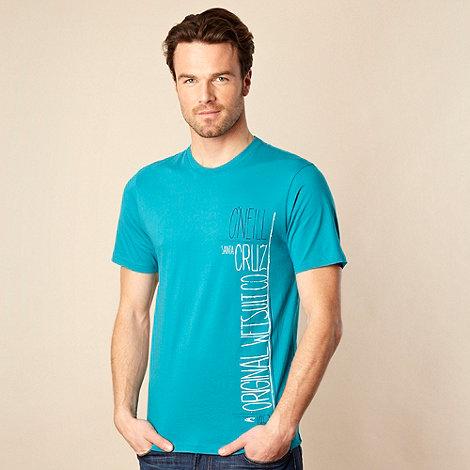 O+Neill - Turquoise side logo t-shirt