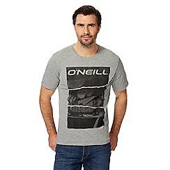 O'Neill - Grey California logo print t-shirt