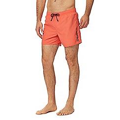 O'Neill - Pink logo print swim shorts
