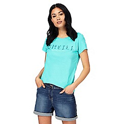 O'Neill - Turquoise printed t-shirt