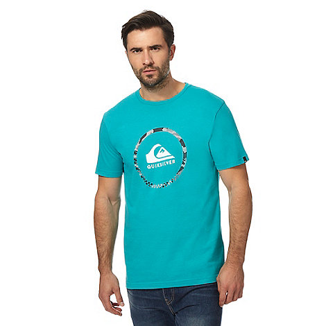Quiksilver big and tall grey logo print t shirt debenhams for Big and tall printed t shirts