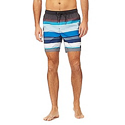 Quiksilver - Blue striped swimming shorts