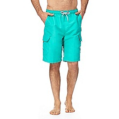Mantaray - Blue cargo swim trunks