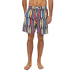 Mantaray - Multicoloured surfboard print swim shorts