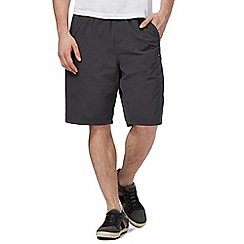Mantaray - Big and tall dark grey swim shorts
