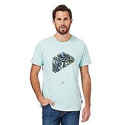 Billabong - Light green logo print t-shirt