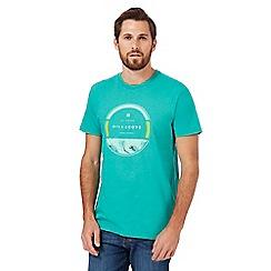Billabong - Green logo print t-shirt