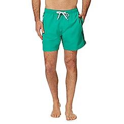 Calvin Klein - Green logo tape swim shorts