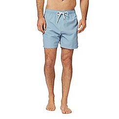 Calvin Klein - Blue logo tape swim shorts